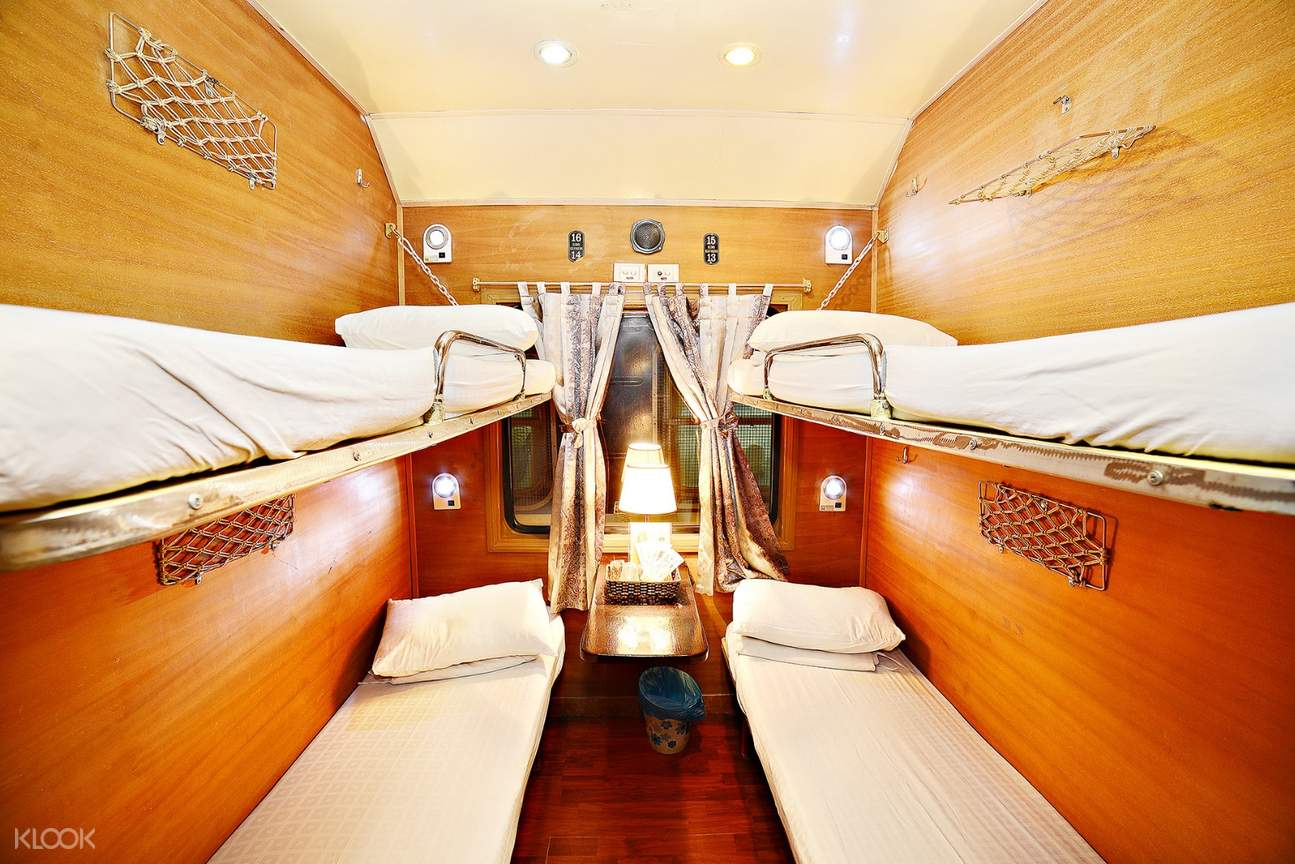 vietnam rail king express cabin for 4